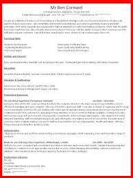 how to write resume cv 1