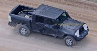 2018 jeep jt. contemporary 2018 update jt wrangler pickup truck to debut in 2018 throughout jeep jt