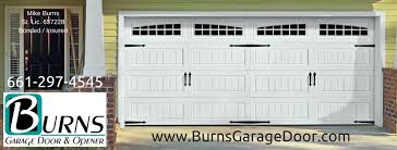 mikes garage doorBurns Garage Door  Opener  Home  Facebook