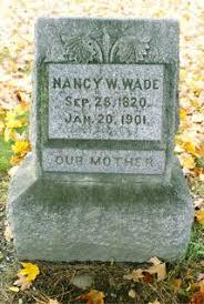 Nancy W Williams Wade (1820-1901) - Find A Grave Memorial