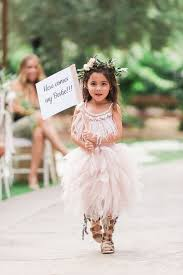unique feather flower girl dresses off