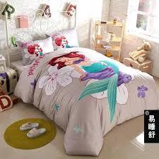 little mermaid twin bed set the little mermaid girls cartoon bedding set twin size for kids little mermaid twin bed