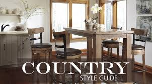 Small Picture Interior Design Style Guide Country Furniture Hm etc