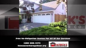 garage door repair vancouver washington patricks garage door