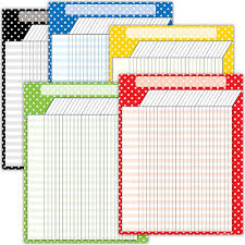 Polka Dot Charts Set 5 Charts