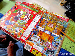 Magazine Holder From Cereal Box Making Paper Beads with Cereal boxes 84