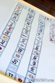 All the sounds used in the english language with sound recordings and symbols in the international phonetic alphabet. A Phonics Game Alphabet Dominos Mrs Jones Creation Station