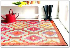 weatherproof outdoor rug post