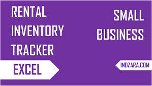 excel inventory template for rental business track rental inventory