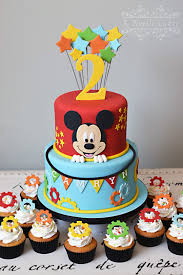 Mickey Mouse Clubhouse Theme Cake By K Noelle Cakes Amaris 1st