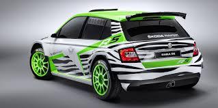 Skoda Fabia Colour Chart Skoda Fabia R5 Wrc 2 Rally Car Will Debut In Essen Photos