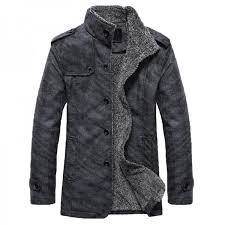 hee grand men pu leather jackets and coats new arrival winter thick casual jaqueta masculino plus