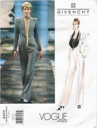 Jumpsuit Pattern Vogue Unique Alexander McQueen For Givenchy Vogue Patterns Part 48 PatternVault