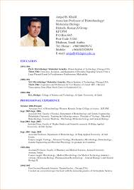 Examples Of Resumes Example Cv Sample Resume For Students Short