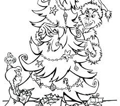 The Coloring Page Pages Free Printable Max Grinch Monextelco