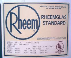 rheem water heater 40 gallon. rheem water heater rating plate 40 gallon -