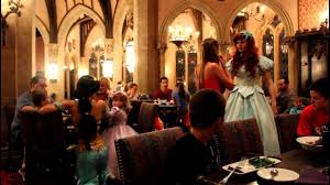 Cinderella Castle Character Dining