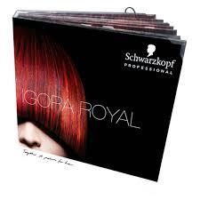 Igora Color Chart Salon Tools Color Chart Igora Royal Premium Book