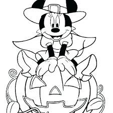 Halloween Coloring Pages Disney Mouse Free Coloring Pages Disney