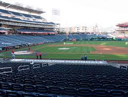 Nationals Baseball Seating Chart Nationals Park Section 131 Seat Views Seatgeek