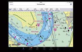 Navigation Charts For Iphone Inavx Marine Navigation App For Ipad And Iphone Yachting