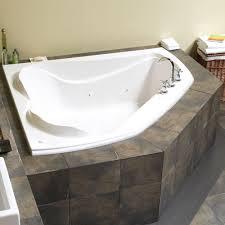 Bathroom: Terrific Corner Whirlpool Bathtub photo. Corner Jetted ...