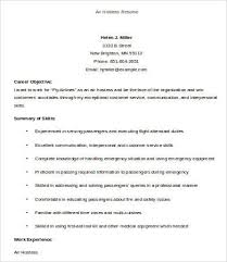 Resume Air Hostess Hostess Resume Template 9 Free Word Pdf Documents