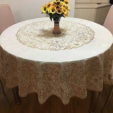 contemporary round disposable tablecloths elegant znzbztthick waterproof large round table cloth home hotel waterproof