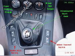 sunroof switch in center console archive 318ti org forum
