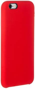 <b>Клип</b>-<b>кейс Gresso</b> Silicon <b>Smart для</b> Apple iPhone 6/6S red ...