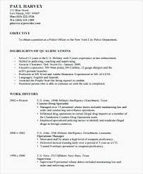 Legal Resume Objective Awesome 48 Fresh Police Resume Objective Examples