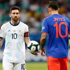 Argentina vs Colombia, Copa América ...