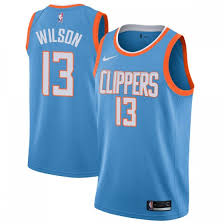 Youth Jamil Wilson Los Angeles Clippers Nike Swingman Blue