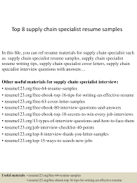 Supply Specialist Resume Free Resume Example And Writing Download