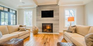 fireplace surround option that lends to an chic influence give us a call and with us about how distressed concrete panels might be a