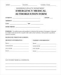 employee medical consent form template. medical authorization form template