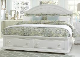 white queen bedroom sets. Liberty Furniture Summer House Queen Storage Bed - Item Number: 607-BR-QSB White Bedroom Sets