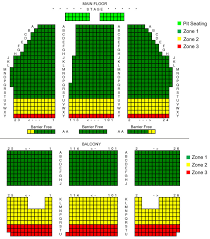 Meadowbrook Hall Seating Chart Seating Maps Capitol Theatre