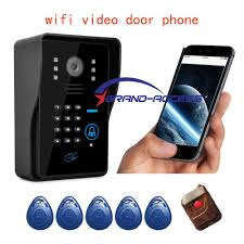 wireless front door cameraNew Wifi Video Door Phone Doorbell Wireless Wifi Wireless Video