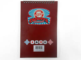 Certified Canasta Freak Score Pad - 50 Sheets. Newt's Playing Cards ...