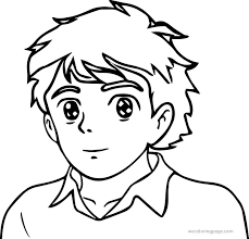 Small Picture Printable Person Coloring Page With Blank At glumme