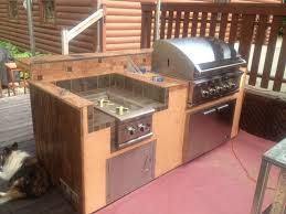 perfect plain outdoor kitchen frame kits bbq island archives diy bbq