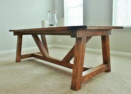 diy farmhouse dining room table