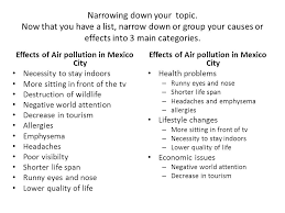 sample essay cause effect air pollution sample of cover letter sample essay cause effect air pollution