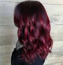 40 Dark Red Hair Color Ideas
