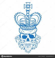 волосатые пиратский череп векторное изображение Filkusto 166238326