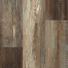 rock solid rigid core sheffield oak engineered vinyl plank with attached pad