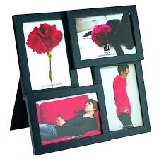 small picture frames collage photo umbra pane frame black red candy for wedding table numbers