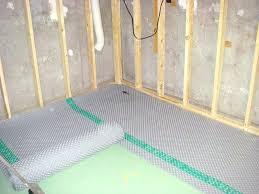 image of vapor barrier basement floor laminate carpet pad moisture how to install c