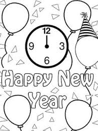 Small Picture Printable Happy New Year Coloring Pages Coloring Coloring Pages
